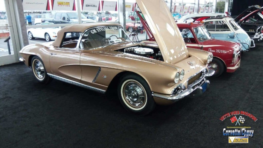 In this article, we will look at the history of the one and only 1962 Firemist Gold Corvette Styling Car that is at the Mecum Auction in Kissimmee, Florida.