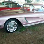 1962 Heather Amethyst Tangier Shrine Parade Corvette Goes to Mecum Auction in Kissimmee.