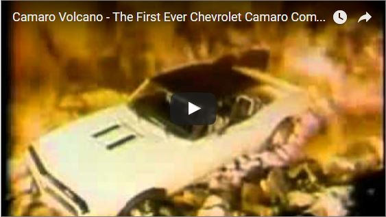50 Year Old Camaro Commercial – 1967-