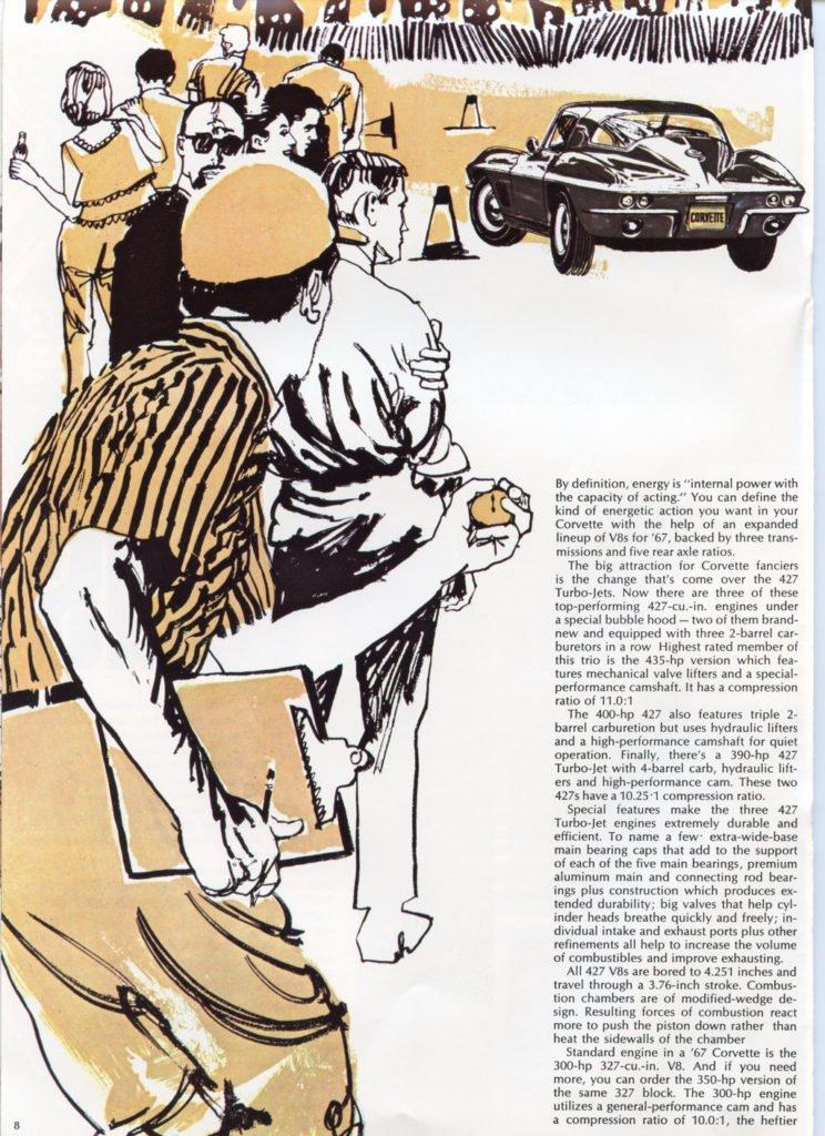 1967 Corvette Brochure