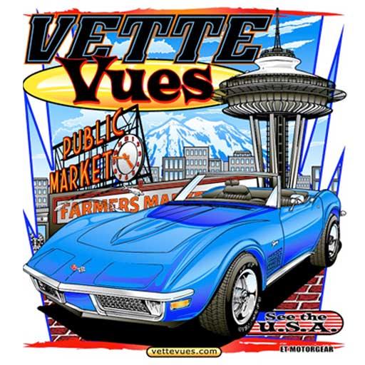 1970s Corvette T-shirt