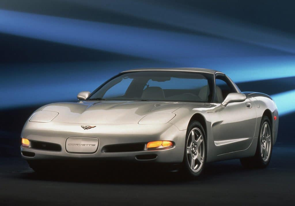 The fifth-generation Corvette started with the 1997 model year. The C5 offered a larger amount of trunk space, now large enough for two golf bags. They moved the transmission to the rear. The rear of the C5 was raised for better aerodynamics. The new Corvette also featured better technology like the head-up display and run-flat tires on all models, making it the best Corvette to date.