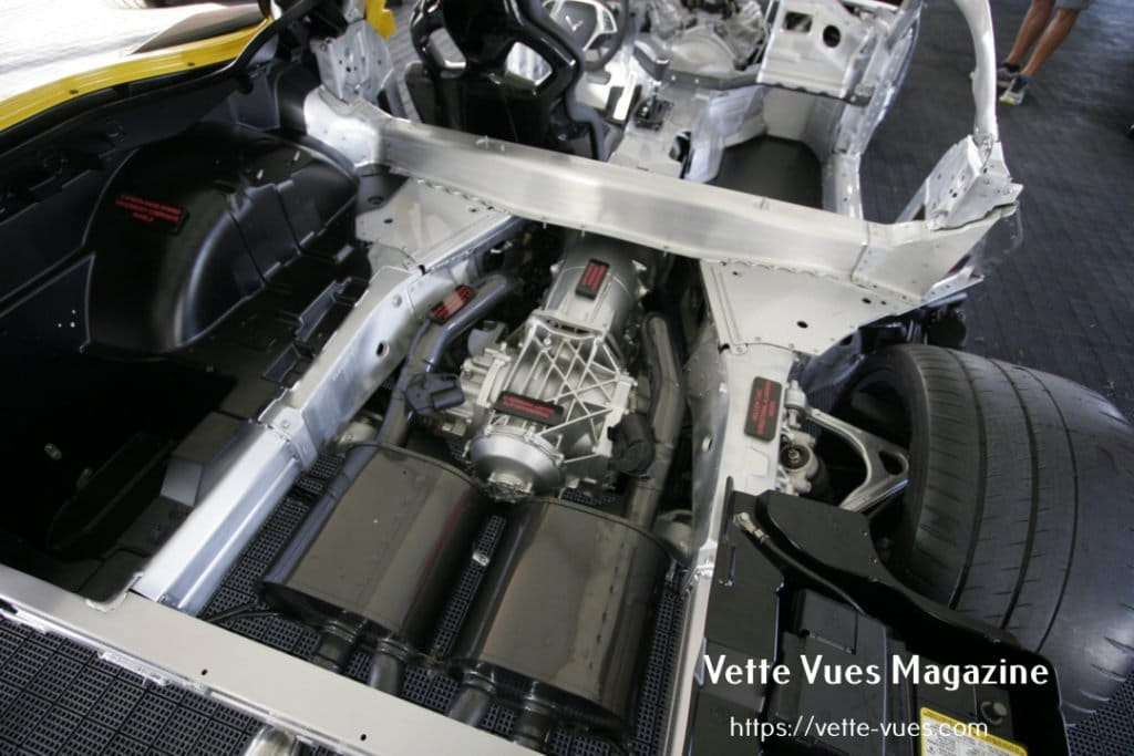 2015 Chevrolet Corvette Z06 Cutaway: The 2015 Corvette Z06 was the most powerful production car ever from General Motors and one of a few production cars available in the United States. The 2015 Corvette Z06 went on sale in the fourth quarter of 2014.