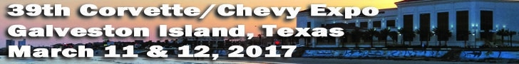 Corvette Chevy Expo March 11 & 12 Galveston Island Convention Center