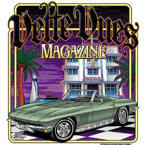 Corvette T-shirt-Miami