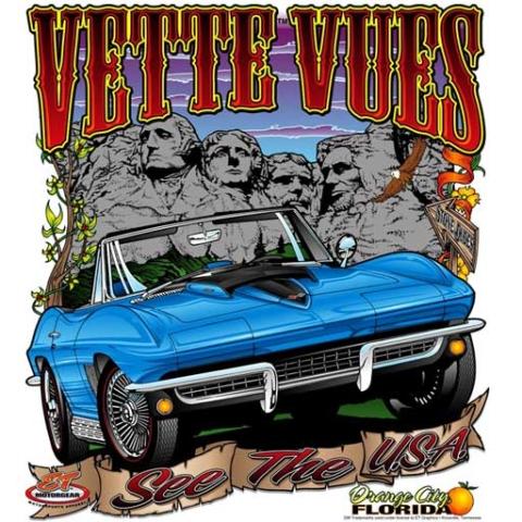 Corvette -T-shirt