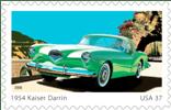 1954 Kaiser Darrin US Postage Stamp