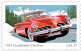 1953 Studebaker Starliner US Postage Stamp