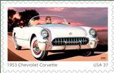 1953 Chevrolet Corvette US Postage Stamp