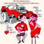 Corvette Valentine's Day Gifts