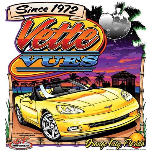 Yellow C6 Corvette T-shirt