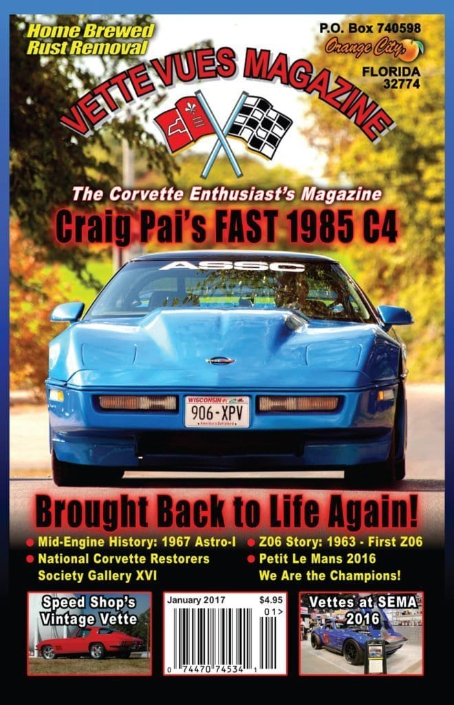 January 2017 Vette Vues Magazine Issue Preview