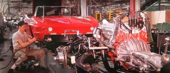 This is a video of the history of Corvette manufacturing in St. Louis, MO and the move to Bowling Green, KY. For 27 years the Corvettes were made in St. Louis, Missouri. The Corvettes was made in Flint, Michigan then St. Louis and now in Bowling Green, Kentucky.