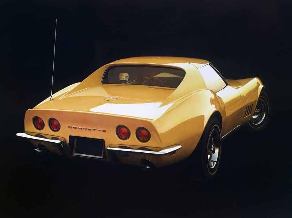1968 C3 Corvette © General Motors
