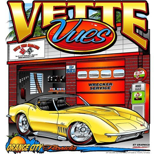 C3 Shark Corvette T-shirt