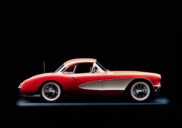 1956 Chevrolet Corvette © General Motors