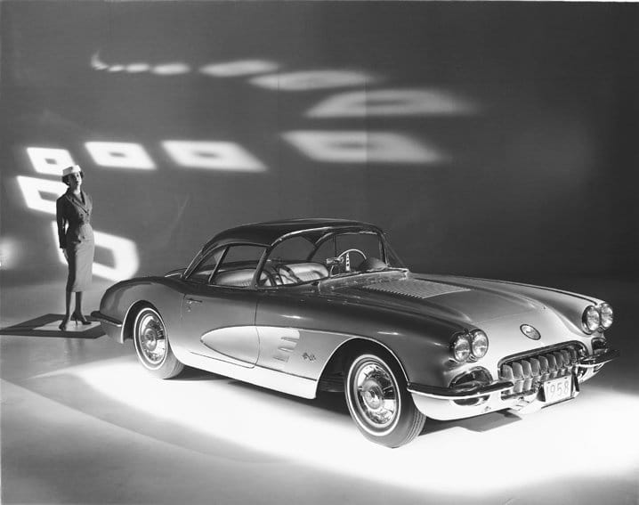 1958 Chevrolet Corvette © General Motors