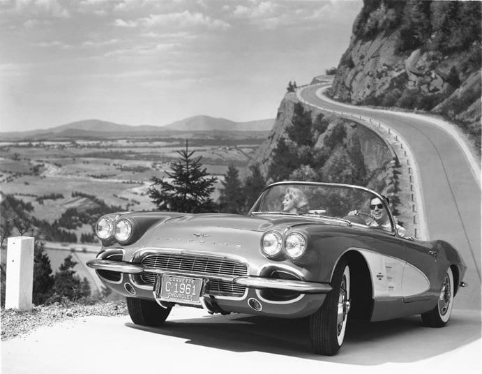 1961 Chevrolet Corvette © General Motors