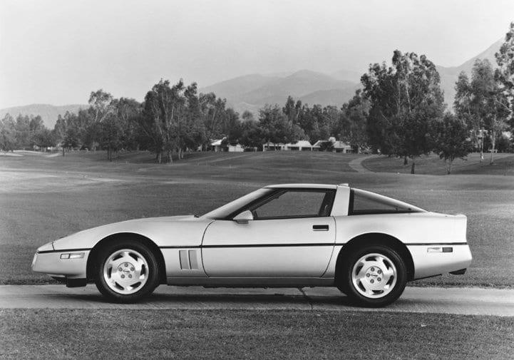 1988 Chevrolet Corvette © General Motors