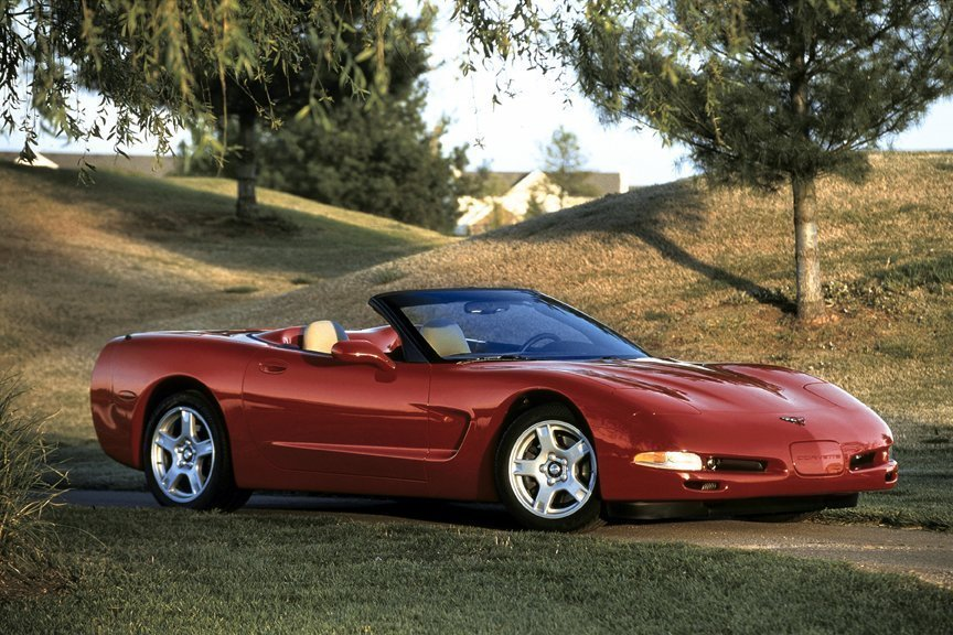 1998 Corvette: America's Sports Car Now Offered in a True Convertible Version