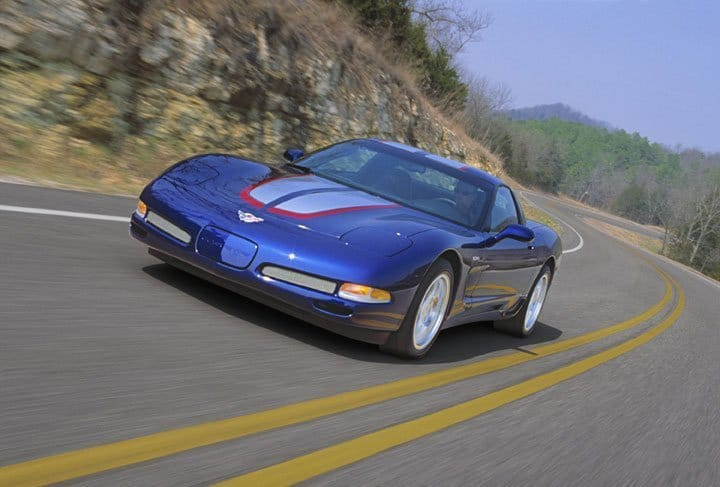 2004 Chevrolet Corvette Z06 Commemorative Edition © General Motors