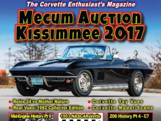 April 2017 Vette Vues Magazine cover