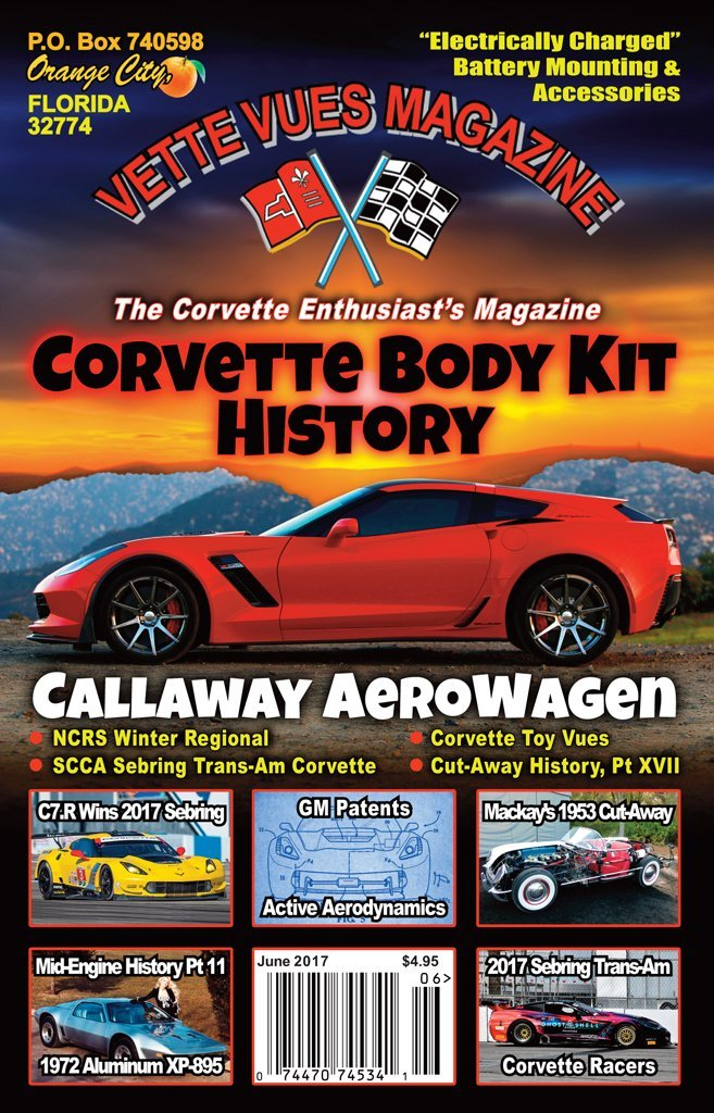 June 2017 Issue Preview | June 2017 Vette Vues Magazine Cover