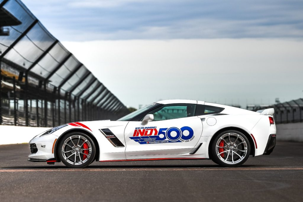 2017 Corvette Grand Sport Indianapolis 500 Pace Car Photo Gallery