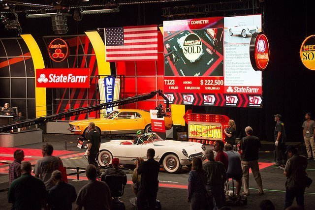 Bob McDorman's1953 Corvette Lot T123 Sold for $220,000 a the Mecum 30th Spring Classic in 2017