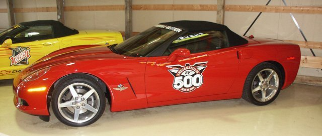 This 2005 Corvette Pace Car is from the Bob McDorman Collection.