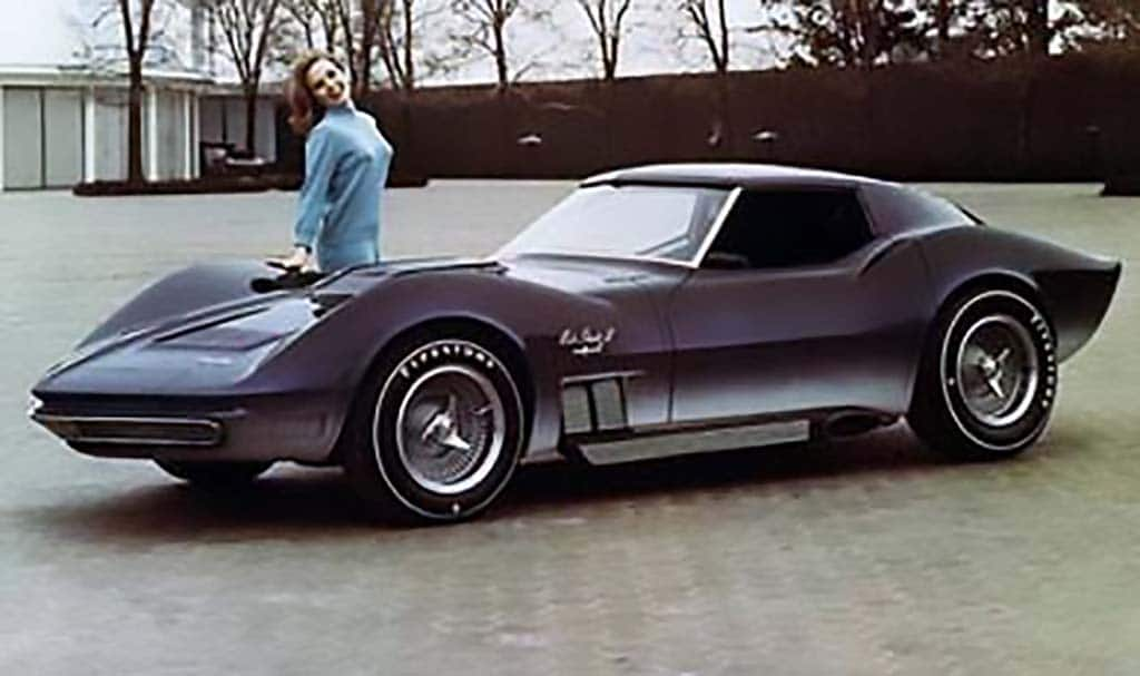 The Mako Shark II concept car was built in 1965 under the direction of William (Bill) L. Mitchell, Vice President of GM Styling Staff. It influenced the design look for the 1968-1982 production Corvette. Chevrolet actually created two of 1965 Mako Sharks - only one of which was fully functional. It debuted in 1965 as a show car.