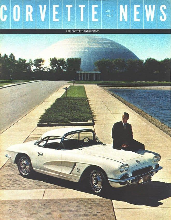 Alan Shepard with a 1962 Corvette Corvette News - Vol. 5 No. 1
