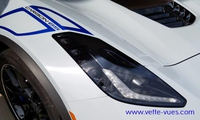 2018 Corvette Carbon 65 Edition Headlights