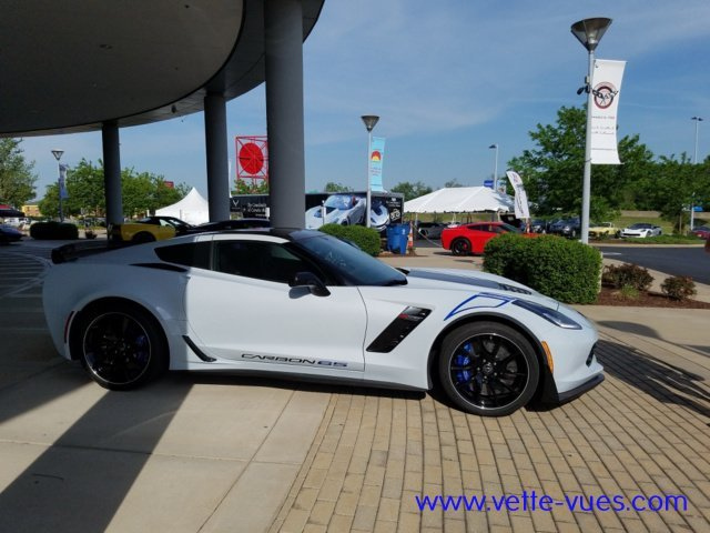 2018 Corvette Carbon 65 Edition Passenger Side View