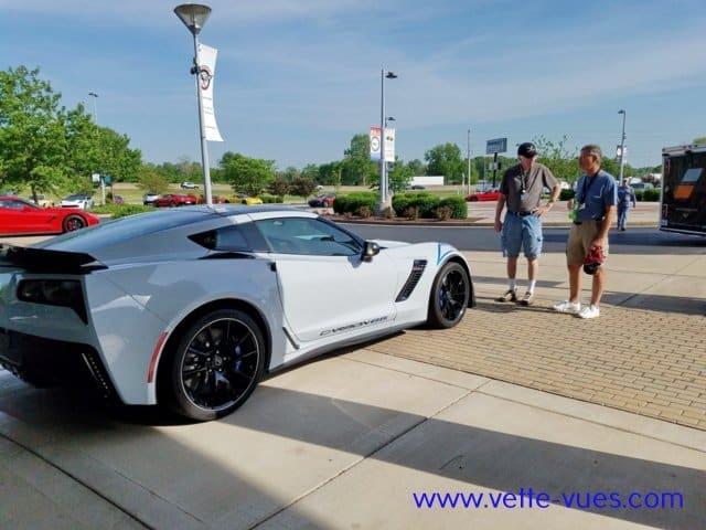 2018 Corvette Carbon 65 Edition Side-Rear