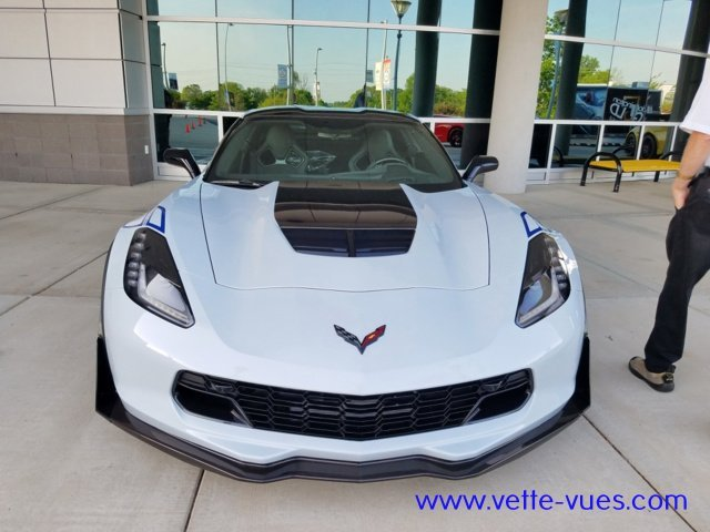 Photo of the new 2018 Corvette Carbon 65 Edition Front View