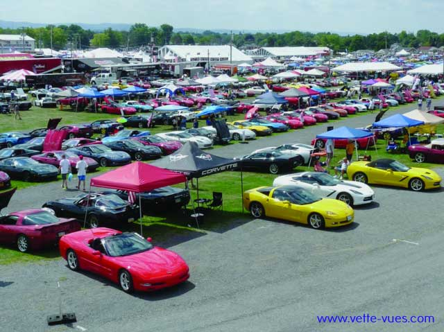 35th Annual Corvettes At Carlisle 2016