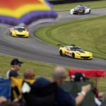 Corvette Racing; Lime Rock Park in Lakeville, CT; July 21-22, 2017; C7.R #3 driven by Jan Magnussen and Antonio Garcia; C7.R #4 driven by Oliver Gavin and Tommy Milner (Richard Prince/Chevrolet photo).