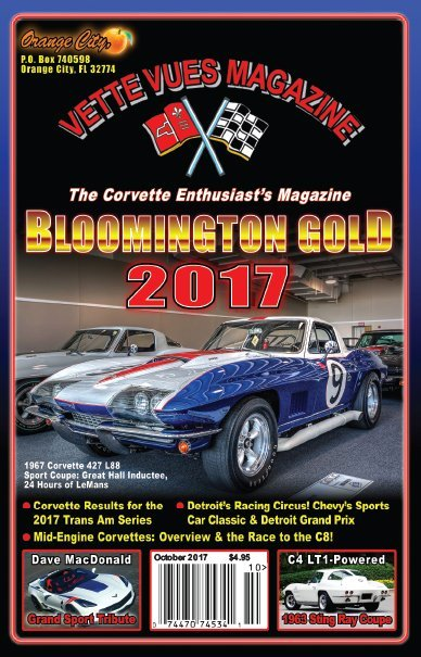 #553 October 2017 Vette Vues Magazine, Volume 46, Issue