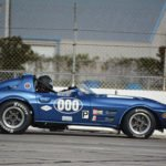 Ken Mennella Car #000 1963 Corvette GSRep. Photographer: © Vanscoy Race Photography