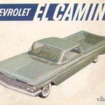 1959 El Camino Ad