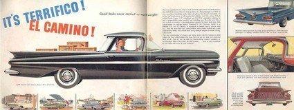 1959 Chevrolet El Camino Ad