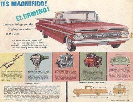Chevrolet El Camino Ad