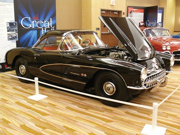 Owner: Irwin Kroiz - This 1957 Fuel Injected Corvette was inducted into the Bloomington Gold 2013 Great Hall. The 1957 Corvette was the First American Car to produce 1 HP per Cubic Inch.