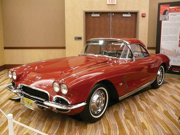 Owned by: Rick Barrack. The 1962 Corvette was inducted into the Bloomington Gold 2013 Great Hall. The 1962 Corvette Introducing the Iconic 327 Engine.