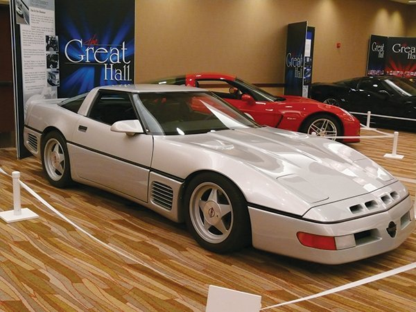 1988 Callaway Sledgehammer Corvette was inducted into the Bloomington Gold 2013 Great Hall. - Owner: The Berry Collection.