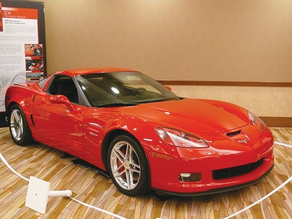 2006 Z06 Corvette was inducted into the Bloomington Gold 2013 Great Hall. - Owner: Rick Hendrick.