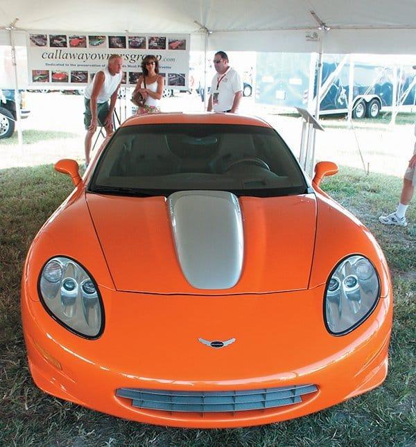 2007 Callaway C16 Cabrio Front