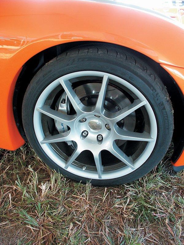 2007 Callaway C16 Cabrio Wheel