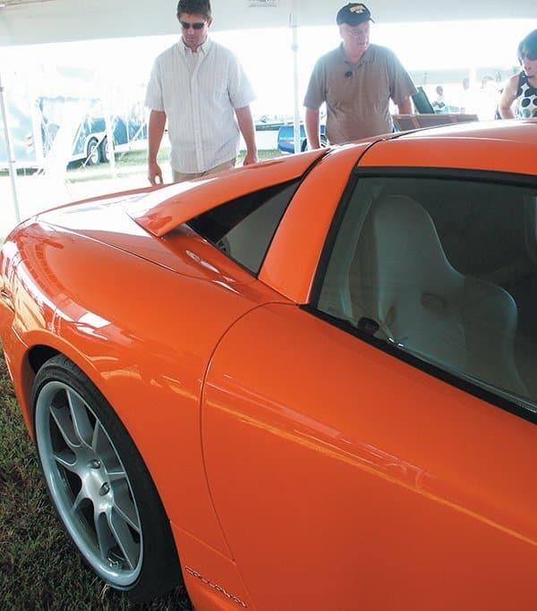 2007 Callaway C16 Cabrio Side Closeup Shot